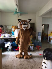 Long Fur Tiger Mascot Costume Cartoon Party Dress Outfit Cosplay Suit Parade Art