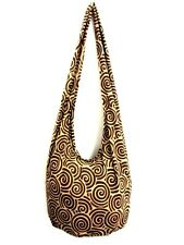 SPIRAL MONK UNISEX BAG SLING SHOULDER ADVENTURE LARGE HOBO BOHO NEW TRIP THAI