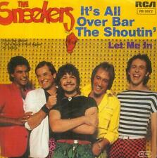 """7"""" sneekers/It 's All Over bar the shoutin' (D)"""