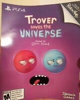 Trover Saves the Universe VR Download Card Full Game Sony PlayStation 4 PSVR PS4