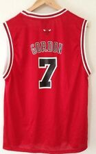 Authentic Reebok NBA Chicago Bulls Ben Gordon #7 Red Sewn Jersey XL Boys 18-20