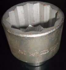2-3/8 A/F Elora Socket 3/4 Drive 12 point Made in Germany