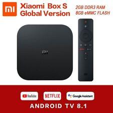 Xiaomi Mibox S 2GB DDR3 RAM 8GB ROM Android 8.1 5G WIFI bluetooth 4.2 H.265 TV