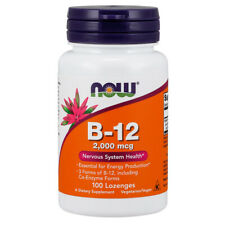 Vitamin B-12, 2000mcg x 100Loz - NOW Foods