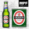 Novelty Personalised Beer/Lager Bottle Labels - Perfect Birthday Gift