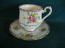 Royal Albert Petit Point Demitasse Cup and Saucer Set(s)