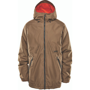 Snowboard Shell Jacket Mens Large Brown Thirtytwo Lashed 2021 32