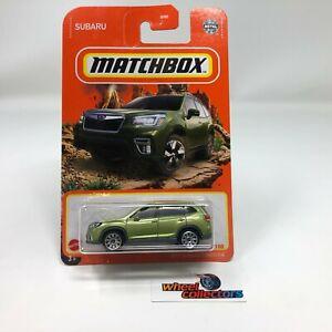 2019 Subaru Forester * Green * 2021 Matchbox Case W * G35