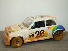 Renault R5 Turbo Dirty Version - Polistil Italy 1:22 *33215