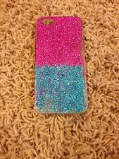 iPhone 5/5S Pink & Blue Glitter Case