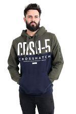 New Mens Crosshatch Pullover Hoodie Winter 2018 Edition Sweatshirt Jumper Top