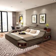 Exclusiv Bett Design Polster Betten Regal Save Tresor Ablagen xxl Doppel 180x200