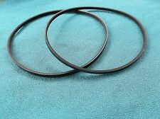 "2 NEW DRIVE BELTS FOR RIKON 70-100 MINI LATHE 12"" LATHE"
