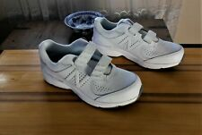 New Balance 411 White Leather Women's Shoes US Sz 9.5 #314