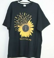 Choose To Keep Going Men's Fruit Of The Loom Black T-Shirt Size XL