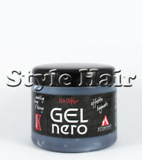 "Gel per capelli professionale KOSMODAFF  "" GEL NERO "" VASO DA 500 ml"