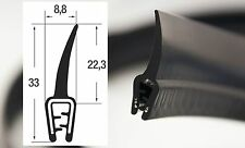 DF6 - 3m Kantenschutz Dichtung oben Dichtungsprofil Kofferraum Gummi EPDM PVC