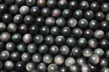 100Pcs Wholesale RAINBOW !! NATURAL Cats Eye Obsidian QUARTZ CRYSTAL Sphere Ball