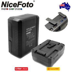 AU*Nicefoto DV002 (BP-115) 14.8V 7800mAh 115Wh Li-ion V-mount Battery