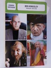 FICHE CINEMA, BEN KINGSLEY  , période 1995-2008, GRANDE-BRETAGNE