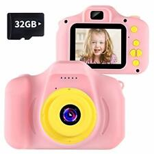 Toys Kids Camera Digital for Girls Gift 3 4 5 6 7 8 9 10 Year Old Birthday Pre..