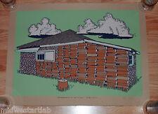 Jay Ryan Art Print Animals Poster Log Cabin The Garage Suite B Serigraph S/# 265