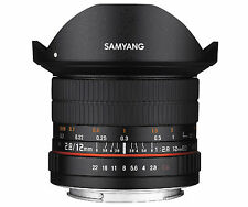 Samyang 12mm F2.8 ED AS NCS FISH-EYE Lens for Nikon AE - Free Ship