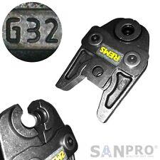 REMS 570430 Presszange G32 / Pressbacke G 32 für Geberit Mepla Verbundrohr