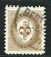 AUSTRIA;  1894 early Postage Due issue fine used 3k. value