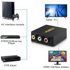 3 RCA CVBS Composito AV a HDMI Convertitore / Adattatore, PAL / NTSC Commutazion