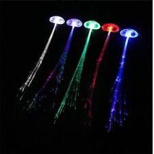 Noël Fibre Optique DEL Lumière Cheveux Accessoire Flash Glow Noël Party Fun Cadeau