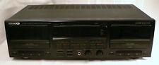 Vintage Kenwood KX-W8050 Stereo Double Record Cassette Deck HX Pro Auto Reverse