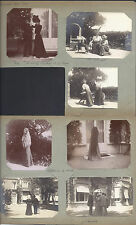 Russian Aristocrat Elsa Zouboff at Chateau de la Rocca in Cannes 1900