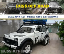 LADA NIVA 4X4 2121 Over Fender Flares Extensions for STANDARD WHEEL ARCHES