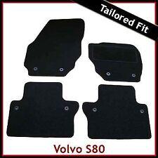 VOLVO S80 auto adaptado equipado Alfombra coche alfombra (2006 2007 2008 2009, 2010, 2011)