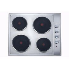 Modern 4 Burner Stainless Steel Electric Cooktop Cook Top 60cm - 3 year warranty