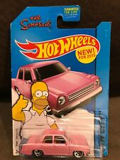 Hot Wheels The Simpsons Family Car