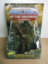 He-Man Masters of the Universe MOTU Classics Moss Man 2009 Mattel NOC Sealed