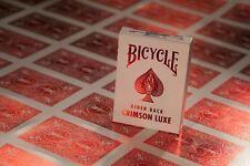 Bicycle Metalluxe Luxe metal estampado Rider parte trasera Póker baraja cobalto cubierta azul 1031346