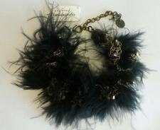 Art Wear Dimitriadis Designer Bracelet*Swarovski Elements*Crystals*Feathers