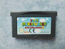 SUPER MARIO WORLD (ADVANCE 2) - NINTENDO GAME BOY GBA e DS NDS - PAL EUR - LOOSE