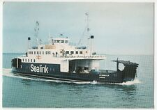 Sealink - Isle Of Wight Ferry, 'Cenwulf' PPC by Dixon, c 1970's Unposted