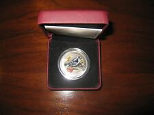 Canada 2008 25 Cent Coin - Downy Woodpecker (without black sleeve)