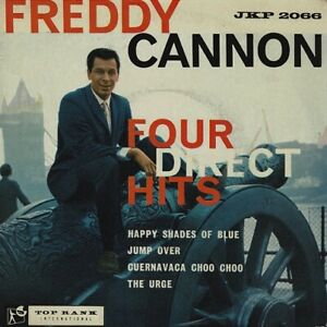 FREDDY CANNON Four Direct Hits EP Vinyl Record Single 7 Inch Top Rank 1960 Rock