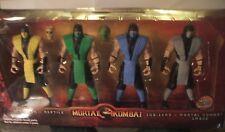 Mortal Kombat 6 Inch Action Figure Scorpion Reptile Sub-Zero Smoke Ninja Klassic