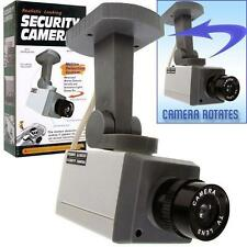 FAKE REALISTIC MOTION DECTECTION SECURITY DUMMY VIDEO CAMERA activation light