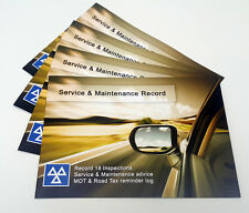 20 x Premium Service Book Blank History Log - Car Maintenance Record Replacement