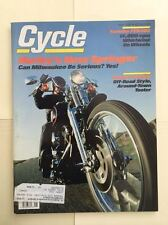CYCLE  MAGAZINE  MAY 1988 SOFTAIL SPRINGER  ALL ABOUT SPRINGERS