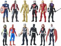 "Marvel Avengers Hero Series 12"" Action Figures  Pack of 8 Iron Man, Spider-Man"