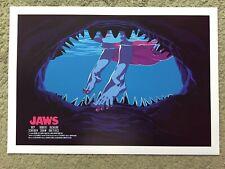 Jaws Movie Art Print Mike Wrobel